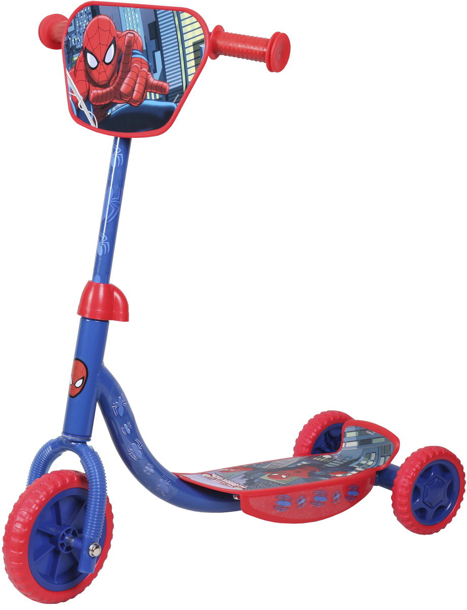 Marvel Spiderman Самокат детский трехколесный лонгборд santa cruz marvel hand pintail cruzer spiderman 9 58 x 39 99 см