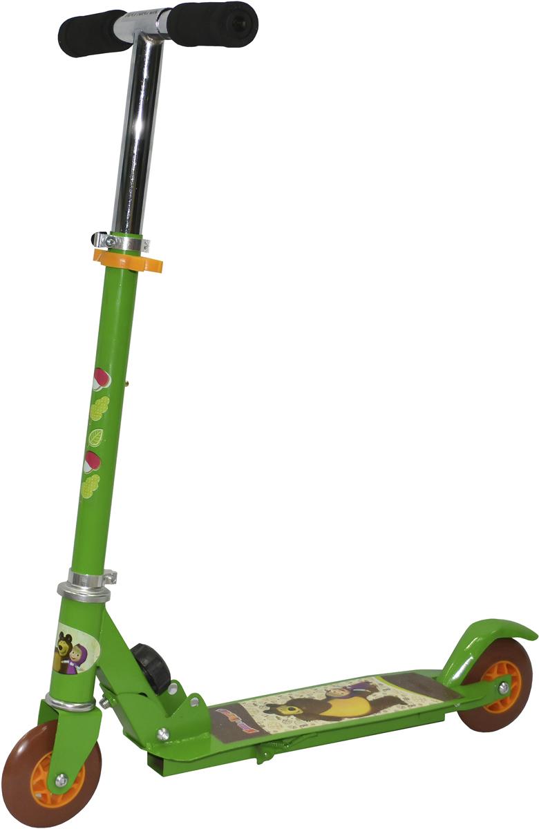 Самокат 1 Toy Navigator, 3-колесный. Т59540Т59540Самокат 1Toy Маша и Медведь с красочными персонажами из мультфильма Диаметр переднего/заднего колеса: 100 мм Материал: сталь Размер самоката (см): 56х9х76 Масса самоката (кг): 2,00 Индивидуальная цветная упаковка Материал колес: ПВХ Тормоз
