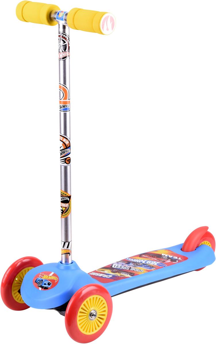 """Самокат 1 Toy """"Hot Wheels"""", 3-колесный. Т59542, 1TOY"""