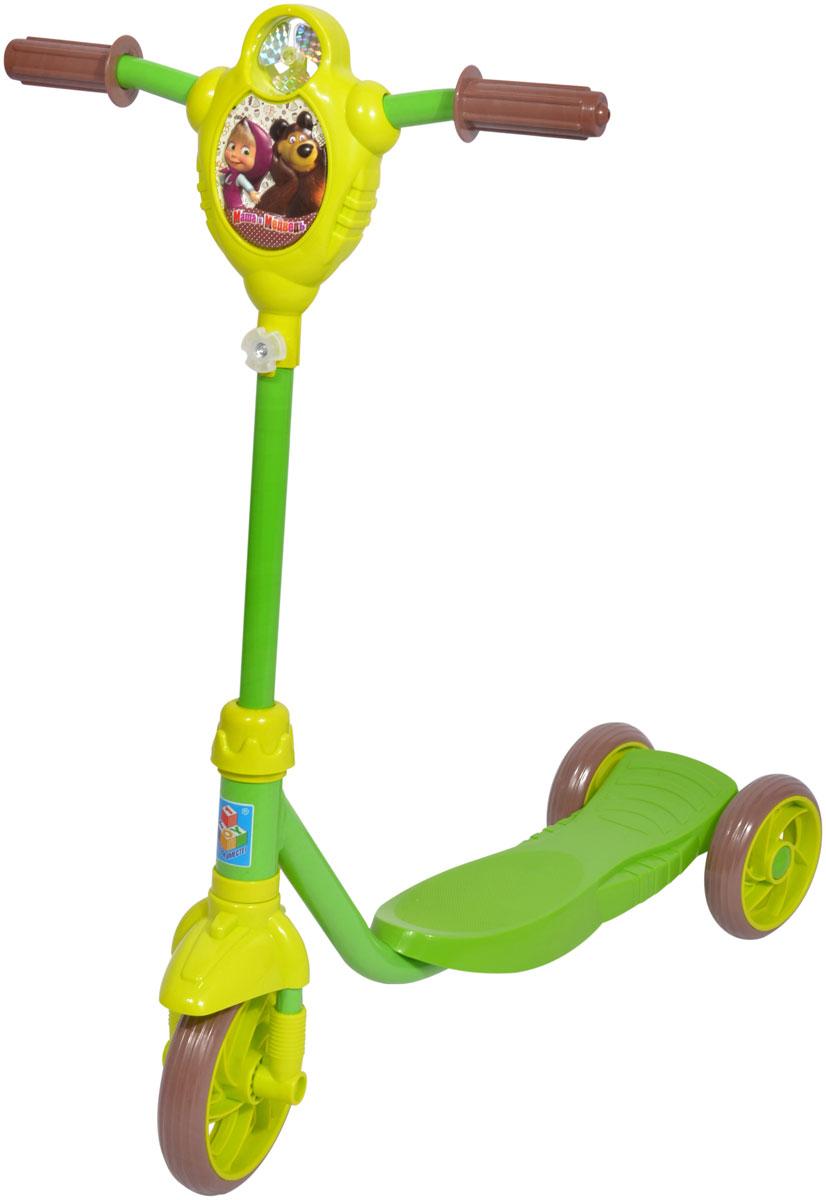 """Самокат 1 Toy """"Маша и Медведь"""", 2-колесный. Т59575, 1TOY"""