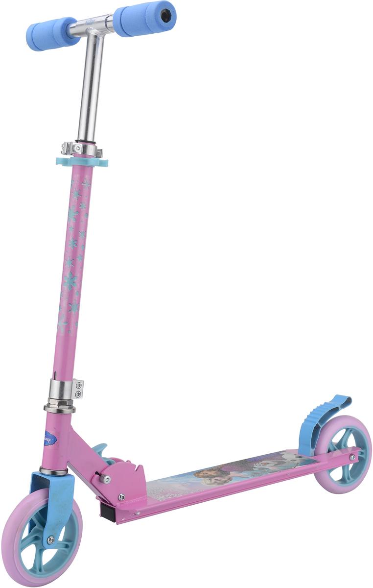 """Самокат 1 Toy """"Disney. Холодное сердце"""", 2-колесный. Т59576, 1TOY"""
