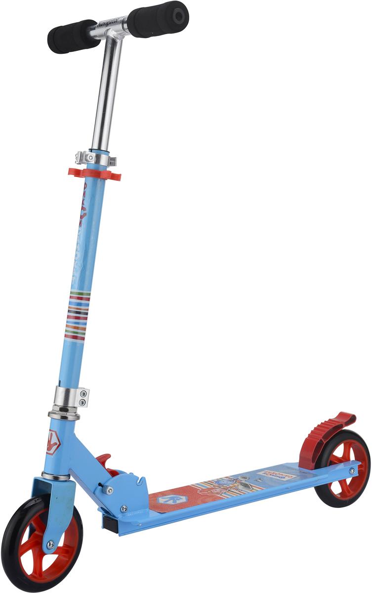 Самокат 1 Toy Фиксики, 2-колесный. Т59580 самокат навигатор фиксики 145 мм синий двухколёсный