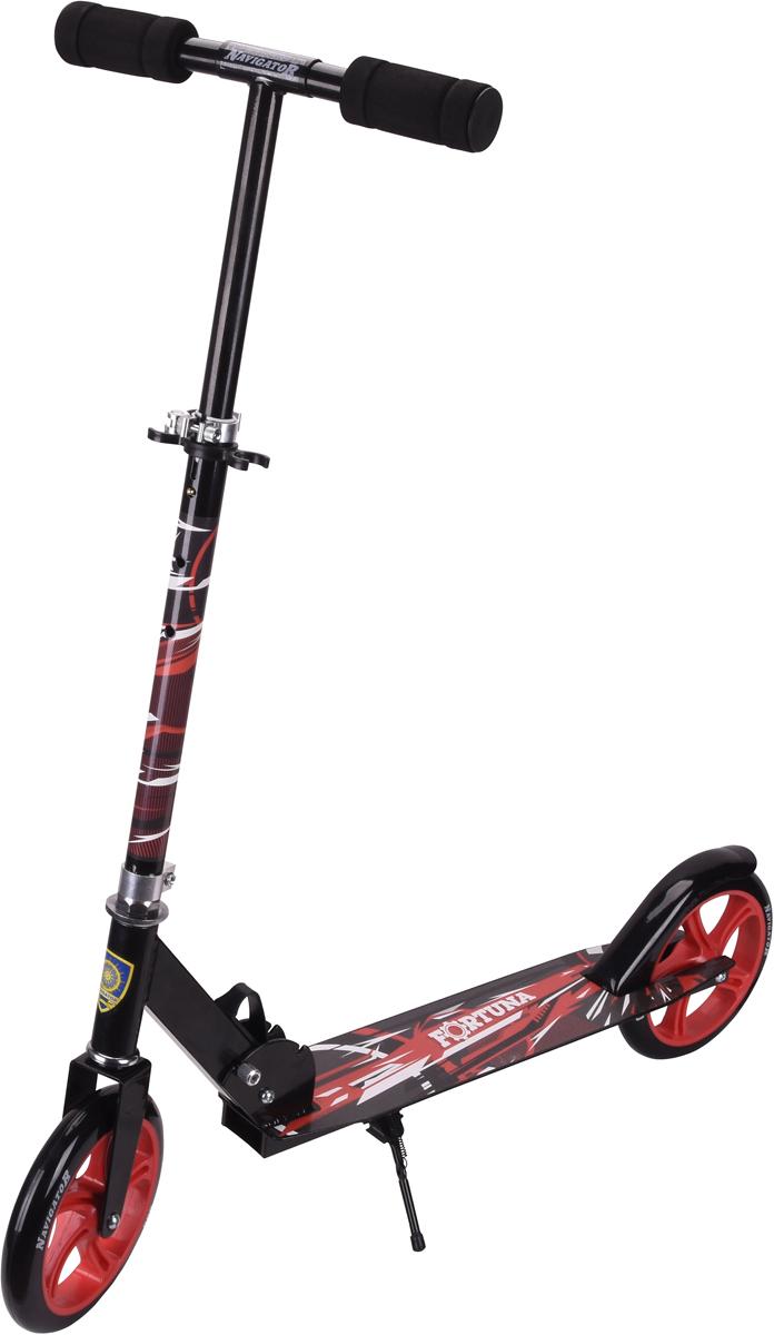 Самокат 1 Toy Navigator, 2-колесный. Т59975Т59975Самокат Navigator подходит для детей от 5 до 14 лет. Руль самокатавыполнен из лёгкого алюминиевого сплава. Узел складывания сделан изалюминия и безопасного пластика. Регулируемый руль (до 73 см), имеет триуровня фиксации. Полиуретановые колеса легко и быстро крутятся, чтообеспечивает хорошую управляемость и скорость самоката. Диаметрпередних и задних колес 200 мм, жесткость 82А, подшипники ABEC-7.Платформа для ног с не скользящим покрытием и яркой наклейкой, ширинаплатформы: 11 см. Максимальная нагрузка на самокат 100 кг.Изображения товара, включая цвет, могут отличаться от реального внешнеговида. Комплектация также может быть изменена производителем безпредварительного уведомления. Описание не является публичной офертой.Убедительно просим вас при выборе модели проверять наличие желаемыхфункций и характеристик.Материал: алюминий, сталь Размер самоката (см): 87 х 11 х 93(73) Масса самоката (кг): 3,8 Индивидуальная цветная упаковка Материал колес: полиуретан Подножка Тормоз. Диаметр переднего/заднего колеса: 200 мм.
