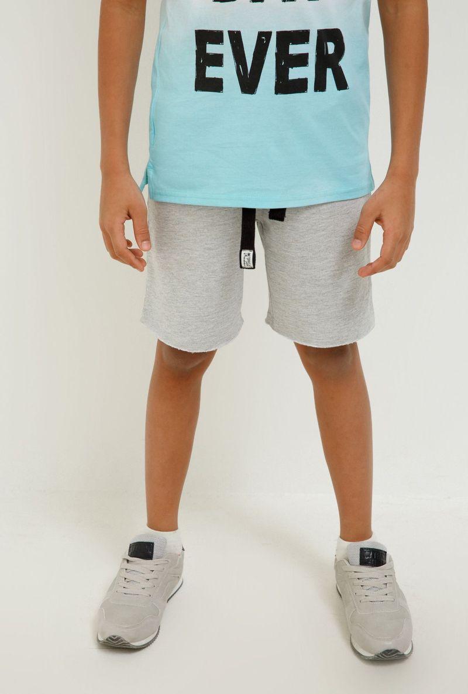 Шорты для мальчика Acoola Swift, цвет: серый. 20120420031_1900. Размер 128 шорты для мальчика adidas yb ess m3s wvsh цвет черный ab6025 размер 128