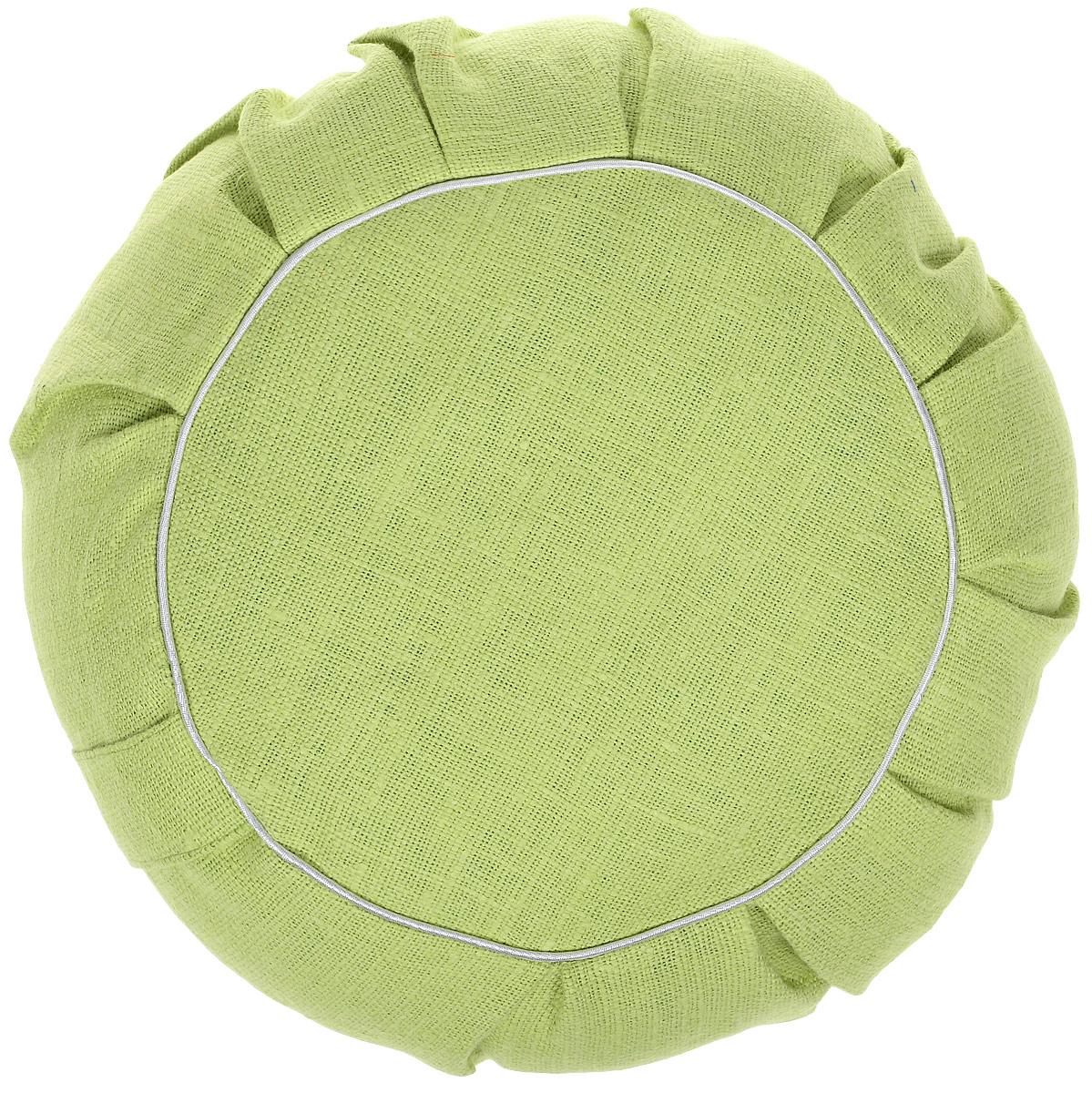 Наполнителем этих уникальных, посвоим свойствам,подушек является экологически чистая лузга гречихи, помещенная вчехол изх/б ткани инаволочку из100% льна которая нескользит. Есть молния дляснятия наволочки.