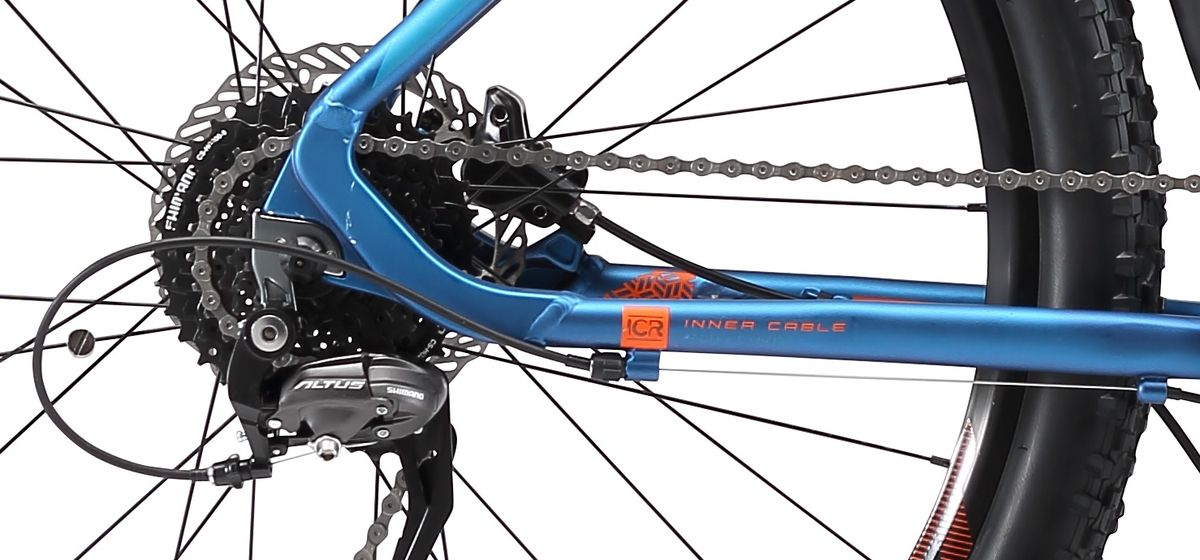 Высококлассный горный велосипед Welt Rockfall AT, который обладает высокой прочностью и малым весом. Основа модели - это высококлассная алюминиевая рама.Надежный и стильный хардтейл Welt Rockfall AT, предназначенный для активного катания как по городским дорогам, так и по лесным маршрутам. Благодаря алюминиевой раме и сбалансировано подобранным компонентам модель получилась предельно легкой и прочной. Особенности и технологии: - Переключатель Shimano Altus - это выбор прогрессирующих спортсменов и любителей кросс-кантри гонок. - Амортизационная вилка #Rock_Shox_XC30#TK RL, установленная на горный велосипед Suntour XCT HLO, позволяет сгладить все неровности, попадающиеся на бездорожье. - Дисковая гидравлика Shimano M-396 остановит велосипед даже на крутом склоне. - технология #INNERCABLEROUING# - технология #BUILTINDISCBRAKE# - технология #TAPERED_HEAD_TUBE# - технология #DOUBLE_BUTTED# - технология #27_PLUS# - технология #XC# - технология #E_PLUS# Технические характеристики: Рама: Alloy 6061 tapered HT, polished welding Размер рамы, дюймы: S, M, L Диаметр колес: 27,5 Кол-во скоростей: 9 Тип вилки: амортизационная Вилка: Suntour XCT HLO 29 DS 100mm Пер. переключатель: нет Зад. Переключатель: Shimano Deore 9spd Шифтеры: Shimano Altus 3x9 spd Тип тормозов: e-контроллер Тормоза: Shimano Acera M-396 Система: JK 36T cold forged alloy narrow Кассета: Shimano HG200 11-34T Тип рулевой колонки:tapered semi-integrated 1- 1/8*44 Покрышки: Kenda Kadre 27,5 x 2,1
