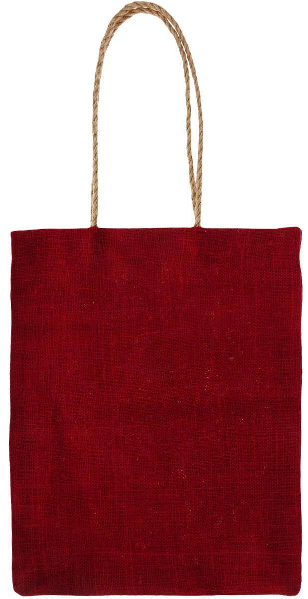 Сумка хозяйственная хозяйственная Подарок, цвет: красный, 7 л сумки эко пак дз сумка