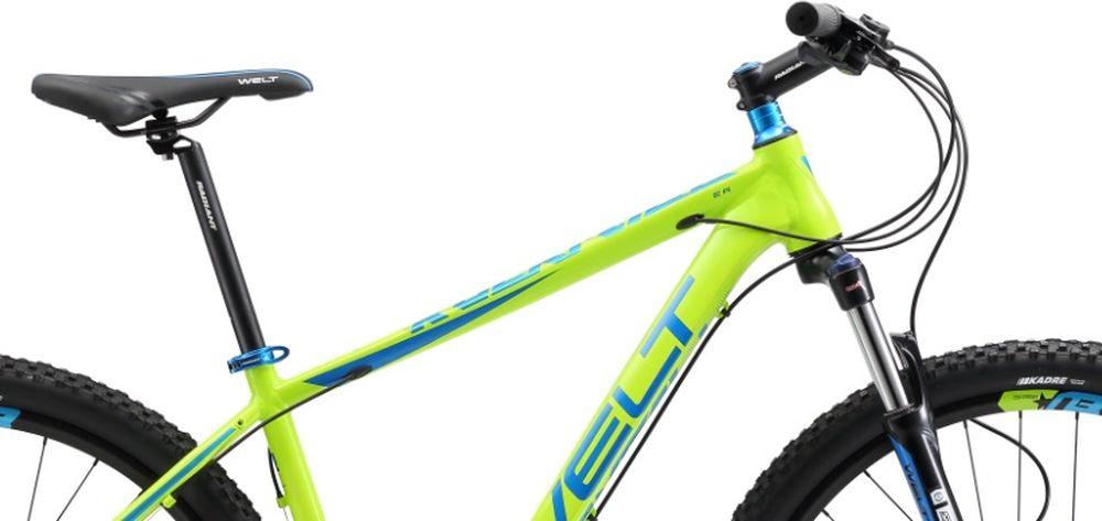Высокоуровневый горный хардтейл Welt Rockfall 3.0 - это аппарат для амбициозных райдеров, который поможет полностью раскрыть свой потенциал велогонщика. Подойдет не только продвинутым любителям велоспорта, но и начинающим спортсменам.Благодаря алюминиевому сплаву, из которого была изготовлена рама, модель получилась не только легкой, но и прочной.В дизайне используются цветные компоненты из анодированного алюминия, что придает велосипеду солидный вид.  Особенности и технологии: - дисковые гидравлические тормоза #Shimano# M-396 не подведут вас даже в мокрую погоду. - амортизационная вилка Suntour XCM HLO 27,5 DS отвечает за комфортное преодоление сложных участков бездорожья. - трансмиссия от японской компании Shimano порадует высокой четкостью переключения и неприхотливостью обслуживания. - быстросъемная цепь, за счет специального замка - технология #INNERCABLEROUING# - технология #BUILTINDISCBRAKE# - технология #TAPERED_HEAD_TUBE# - технология #DOUBLE_BUTTED# - технология #27_PLUS# - технология #XC# Технические характеристики: Рама: Alloy 6061 tapered HT, polished welding Размер рамы, дюймы: S, M, L Диаметр колес: 27,5 Кол-во скоростей: 27 Тип вилки: амортизационная Вилка: Suntour XCT HLO 27,5 DS 100 mm Пер. переключатель: Shimano Altus Зад. Переключатель: Shimano Deore 9spd Шифтеры: Shimano Altus 3x9 spd Тип тормозов: дисковые гидравлические Тормоза: Shimano Acera M-396 Система: SR Suntour XCT 44/32/22T Кассета: Shimano HG200 11-34T Тип рулевой колонки:tapered semi-integrated 1- 1/8*44 Покрышки: WTB Nano 27,5 x 2,1
