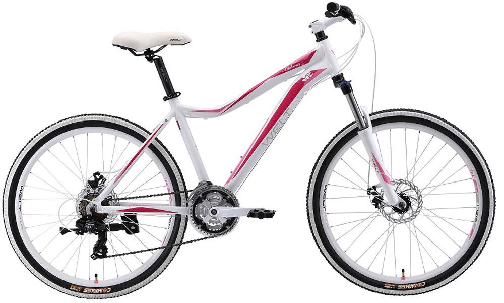 Велосипед детский Welt 2018 Edelweiss Teen, цвет: белый, красный, колесо 269333725308559Welt Edelweiss 26 Teen обязательно понравится активным и спортивным подросткам, которые все свободное время проводят на открытом воздухе.Подростковый велосипед со взрослым оборудованием станет настоящим другом для молодежи, которая любит активные виды спорта. Несмотря на относительно невысокую цену, модель обладает высококачественным навесным оборудованием и надежными компонентами. Крылья не дадут одежде промокнуть при передвижении по мокрым дорогам. Рама изготовлена из алюминиевого сплава, что придало модели малый вес без потери в прочности. Амортизационная вилка способна обработать все неровности дороги и не даст вашим рукам забиться и устать. Особенности и технологии: - амортизационная вилка и 7 скоростная трансмиссия #Shimano# добавят комфорта катанию; - обновленная рама, имеющая плавную линию верхней трубы для комфортной посадки; - двойные обода; - подножка и крылья в комплекте. -технология #DIAMOND_SHAPE_GEOMETRY# Технические характеристики: Рама: Alloy 6061 Размер рамы: one size Диаметр колес: 26 Кол-во скоростей: 21 Тип вилки: амортизационная Вилка: Hagen ES-440 Alloy 100mm Переключатель задний : Shimano TY-21 Переключатель передний: Shimano TZ-30 Шифтеры: Shimano EF-500 3x7 Тип тормозов: #V_brake# Тормоза: Power 132S Система: 42/34/24 T 152mm Кассета: FW-217B 14-28T Тип рулевой колонки: semi-integrated 1-1/8*44 Покрышки: Wanda P1197 20x1,95