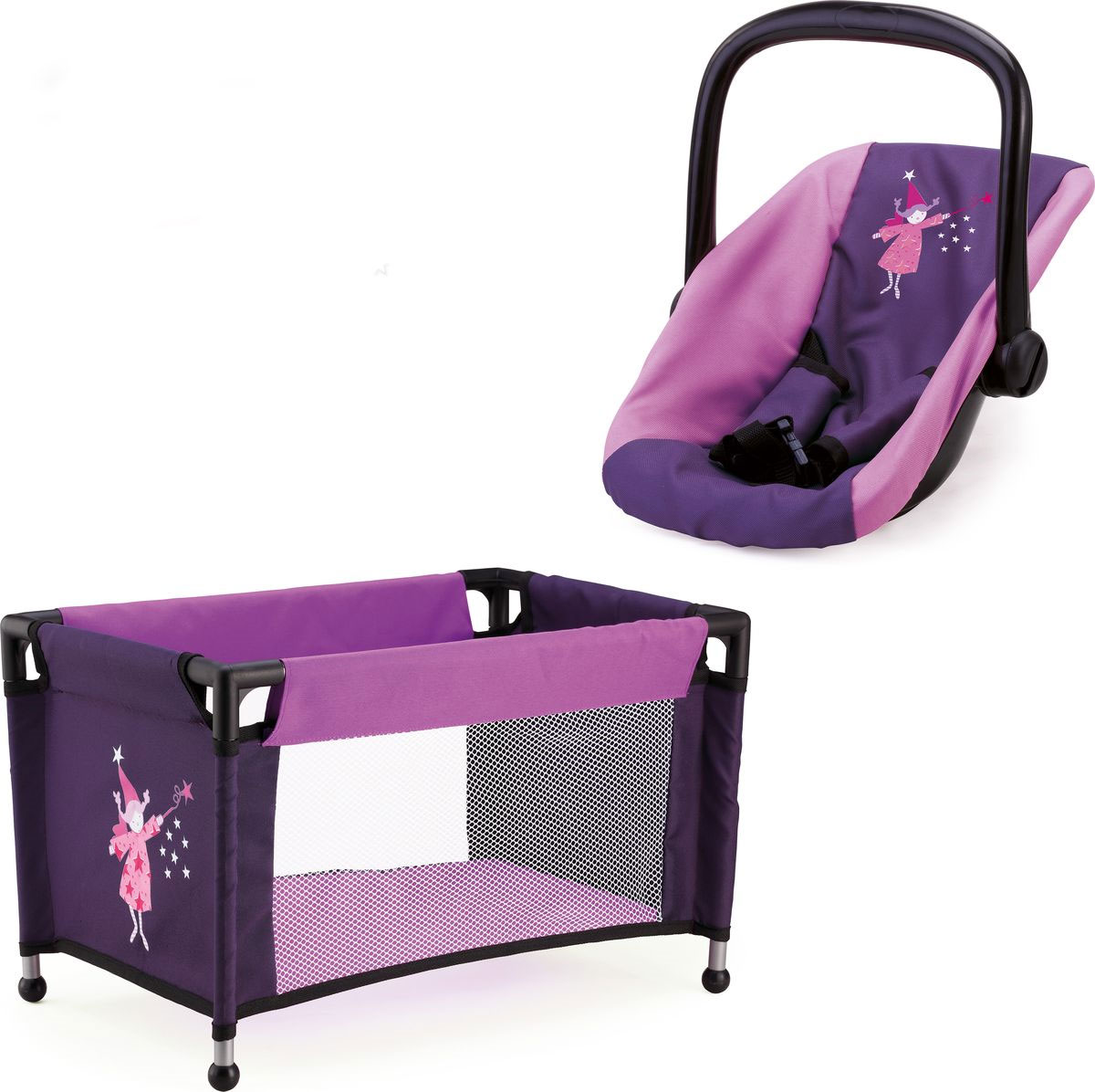 Bayer Аксессуар для кукол Переноска и кроватка игровые наборы bayer набор для кукол стульчик кенгурушка сумка посуда