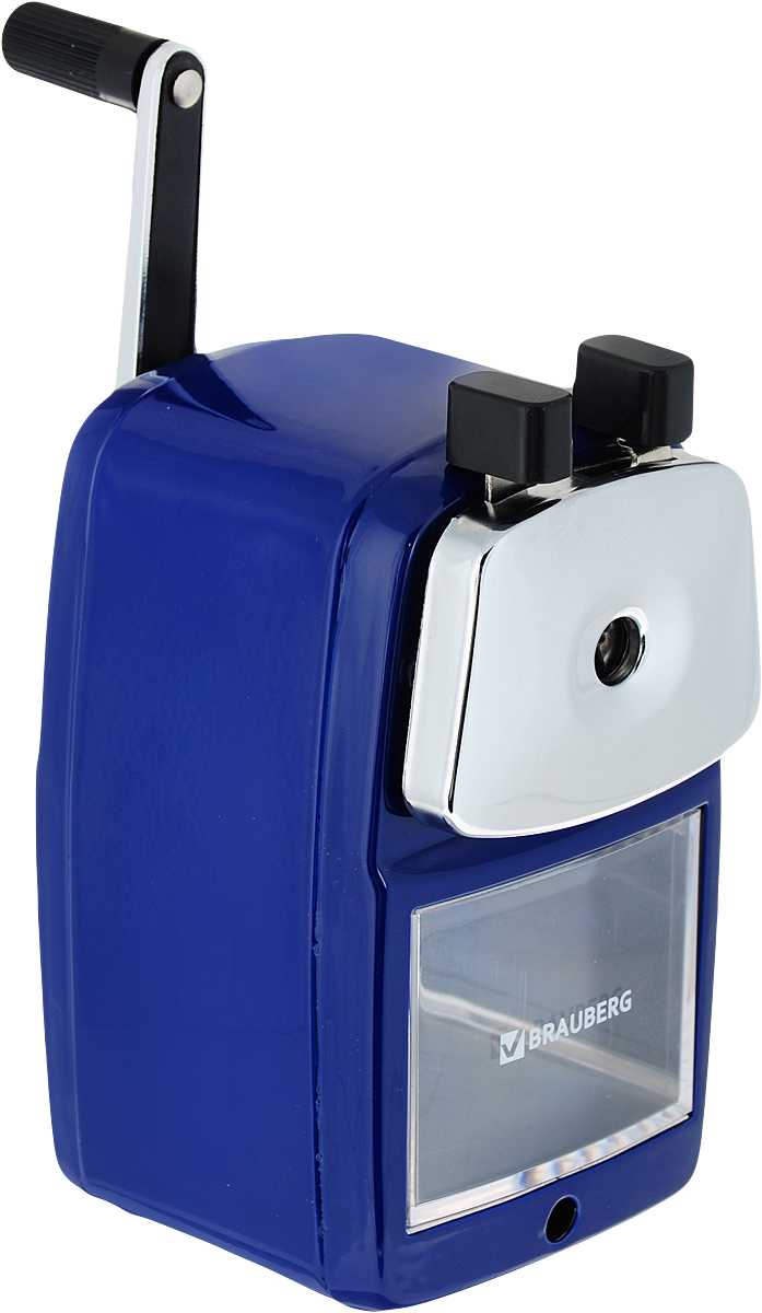 Brauberg Точилка Power цвет синий