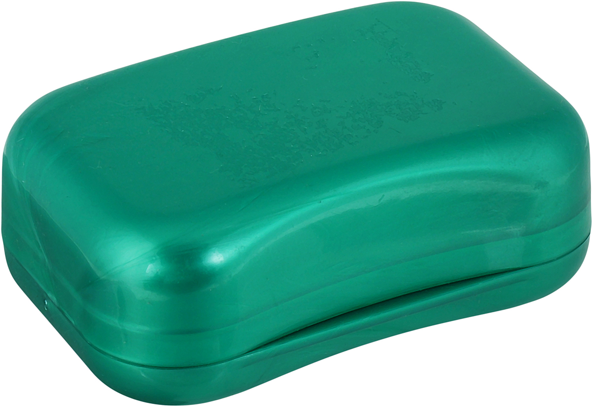 Мыльница Libra Plast. LP0046, цвет: зеленый