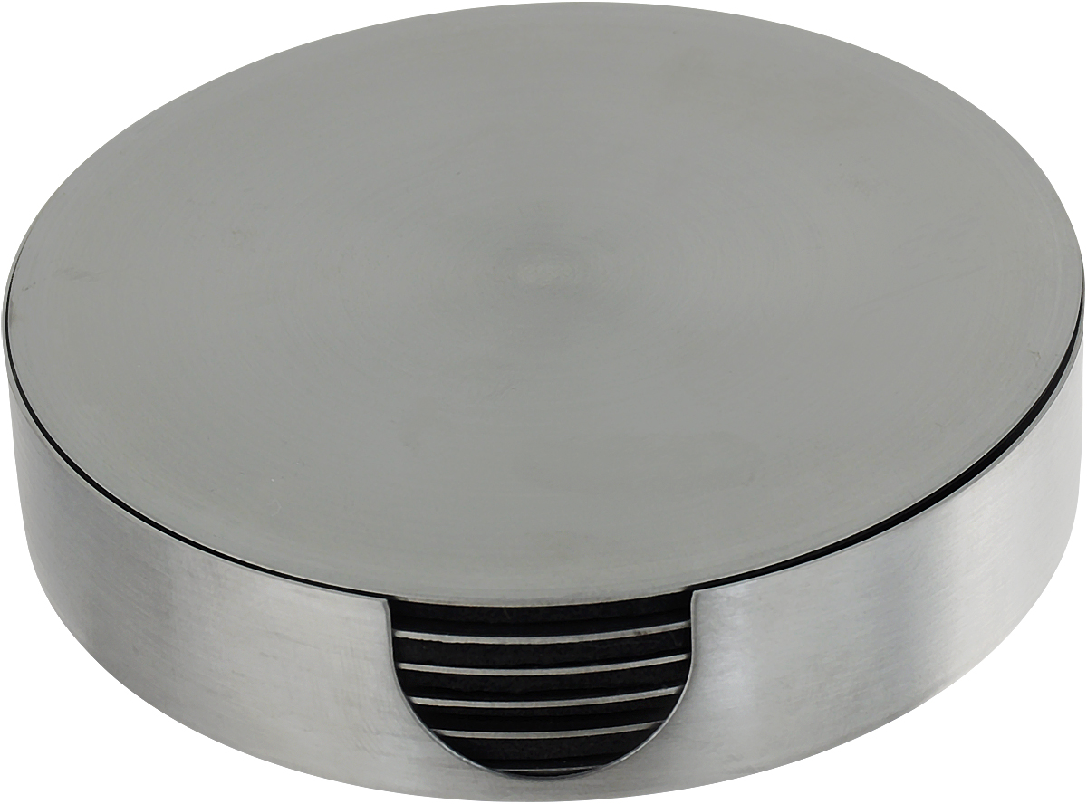 """Набор """"Zeller"""" состоит из 7 оригинальных подставок под кружки, изготовленных из металла. Каждая хозяйка знает, что подставка под горячее - это незаменимый и очень полезный аксессуар на каждой кухне. Такие подставки не только украсят ваш стол, но и сберегут его от воздействия высоких температур."""