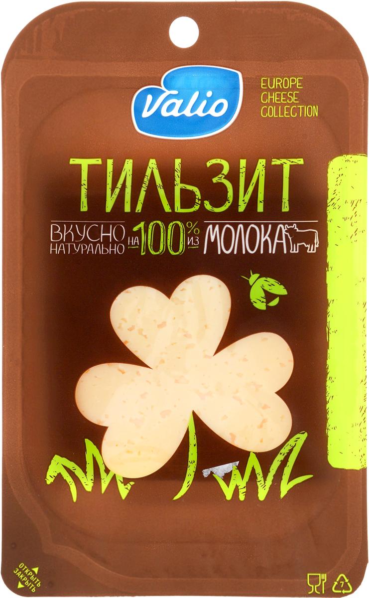 Valio Сыр Тильзит, 45%, 140 г valio молоко 2 5