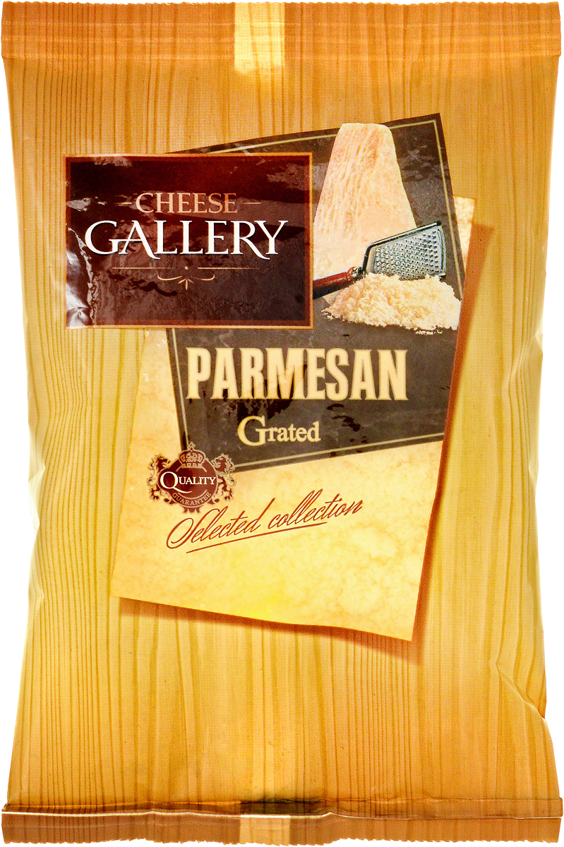 Cheese Gallery Сыр Пармезан, 38%, гранулы, 100 г cheese gallery сыр песто базилико с приправой 45