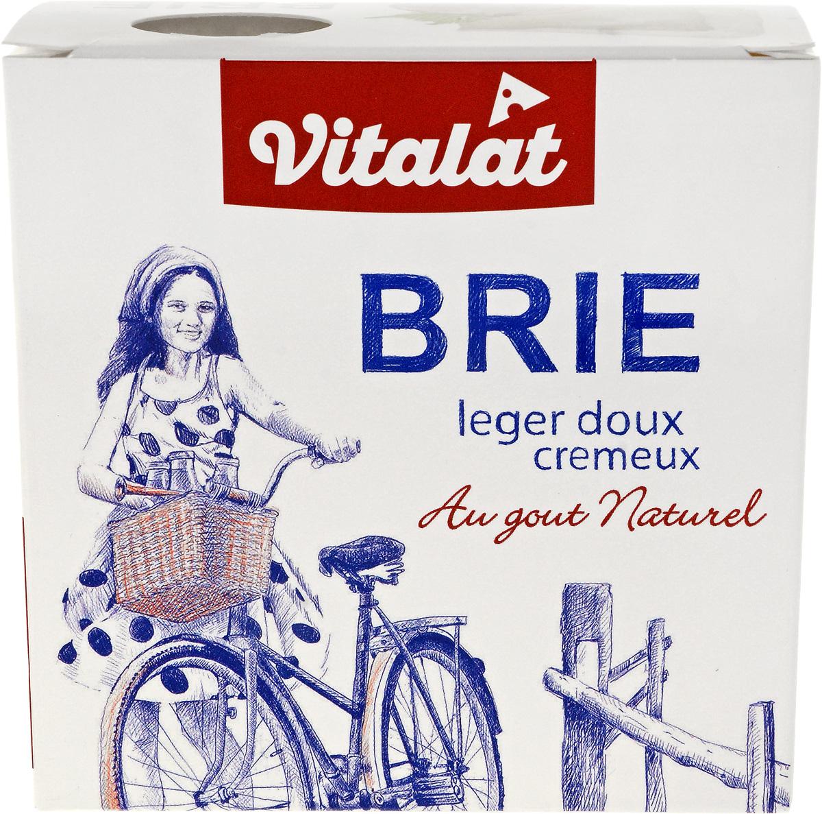 где купить Vitalat Сыр Бри, 60%, 125 г по лучшей цене
