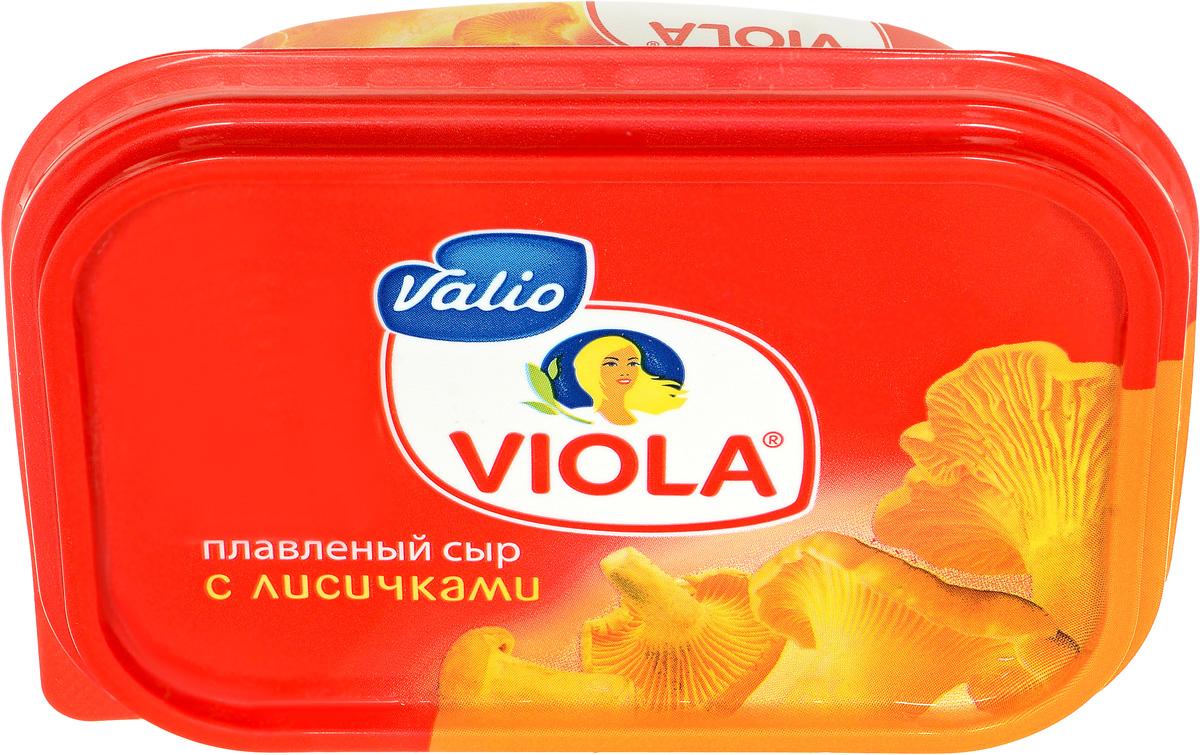Valio Viola Сыр с лисичками, плавленый, 200 г valio viola сыр сливочный плавленый в ломтиках 140 г