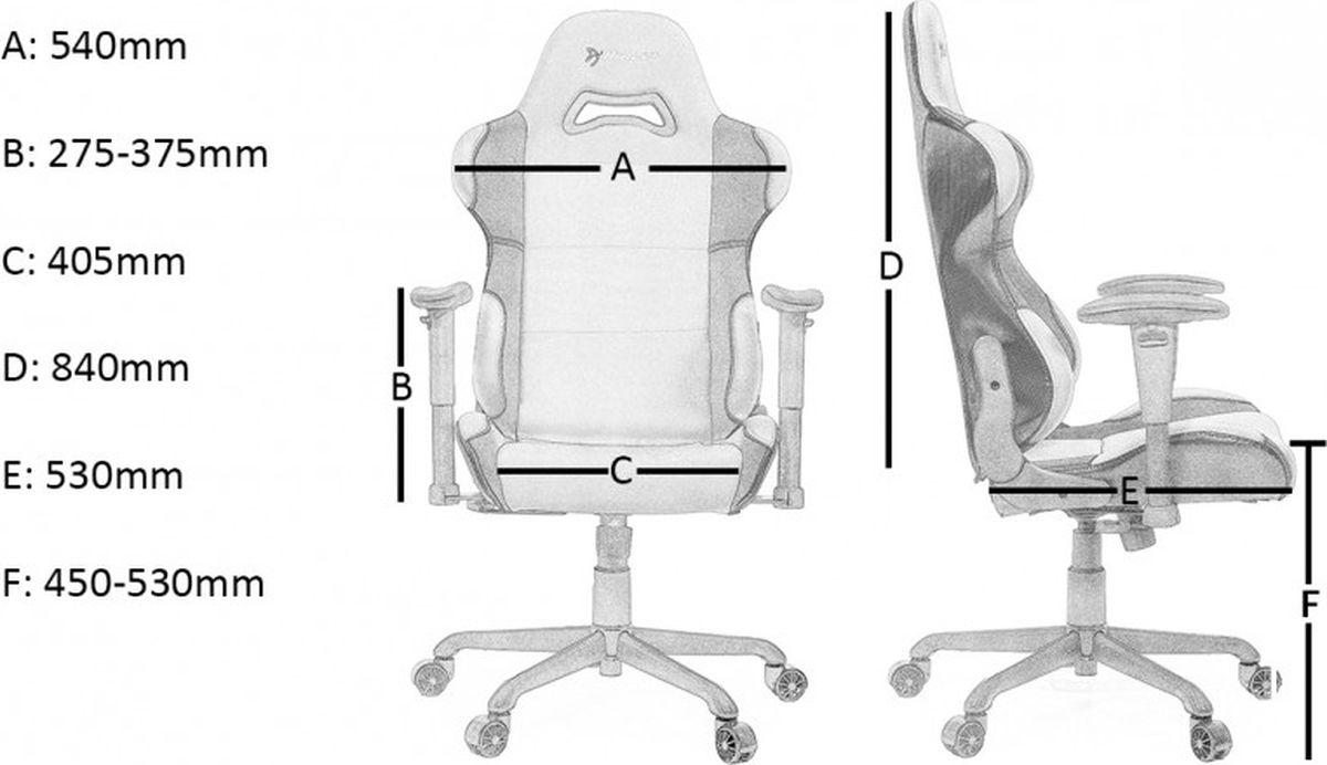 Arozzi Torretta V2, Blueигровое кресло Arozzi