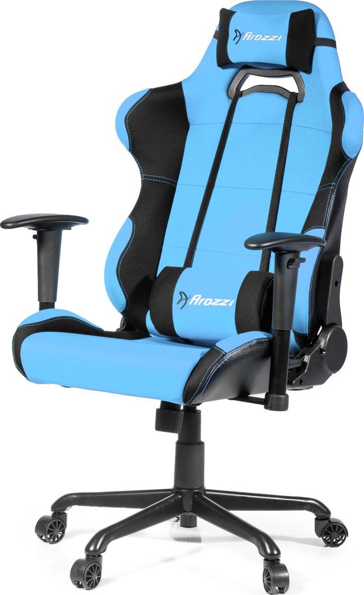 Arozzi Torretta XL-Fabric, Azure игровое креслоTORRETTA-XLF-AZКомпьютерное кресло Arozzi Verona переносит Вас на следующий этап в комфортном использование эргономичной мебели. Шведские дизайнеры интегрировали в это кресло самые популярные функции из различных производственных линеек игровой мебели, которые помогают почувствовать контроль за ситуации в полном комфорте при любых обстоятельствах. Мягкое покрытие кресла по верх облегченного металлического каркаса придает ощущение роскоши, сохраняя при этом легкое перемещение на игровом или рабочем месте. Verona включает в себя такие эргономичные функции, как дополнительные мягкие сиденья, регулируемые подлокотники, регулируемая дополнительная спинка и подставка для головы, а так же прочная обивка которую легко будет чистить. Кресло Verona представлено в различных цветовых решениях которые уже давно оценены геймерами и пользователями всего мира. Когда придет время выиграть, Verona пройдет весь путь с Вами и поможет добиться лучших результатов.