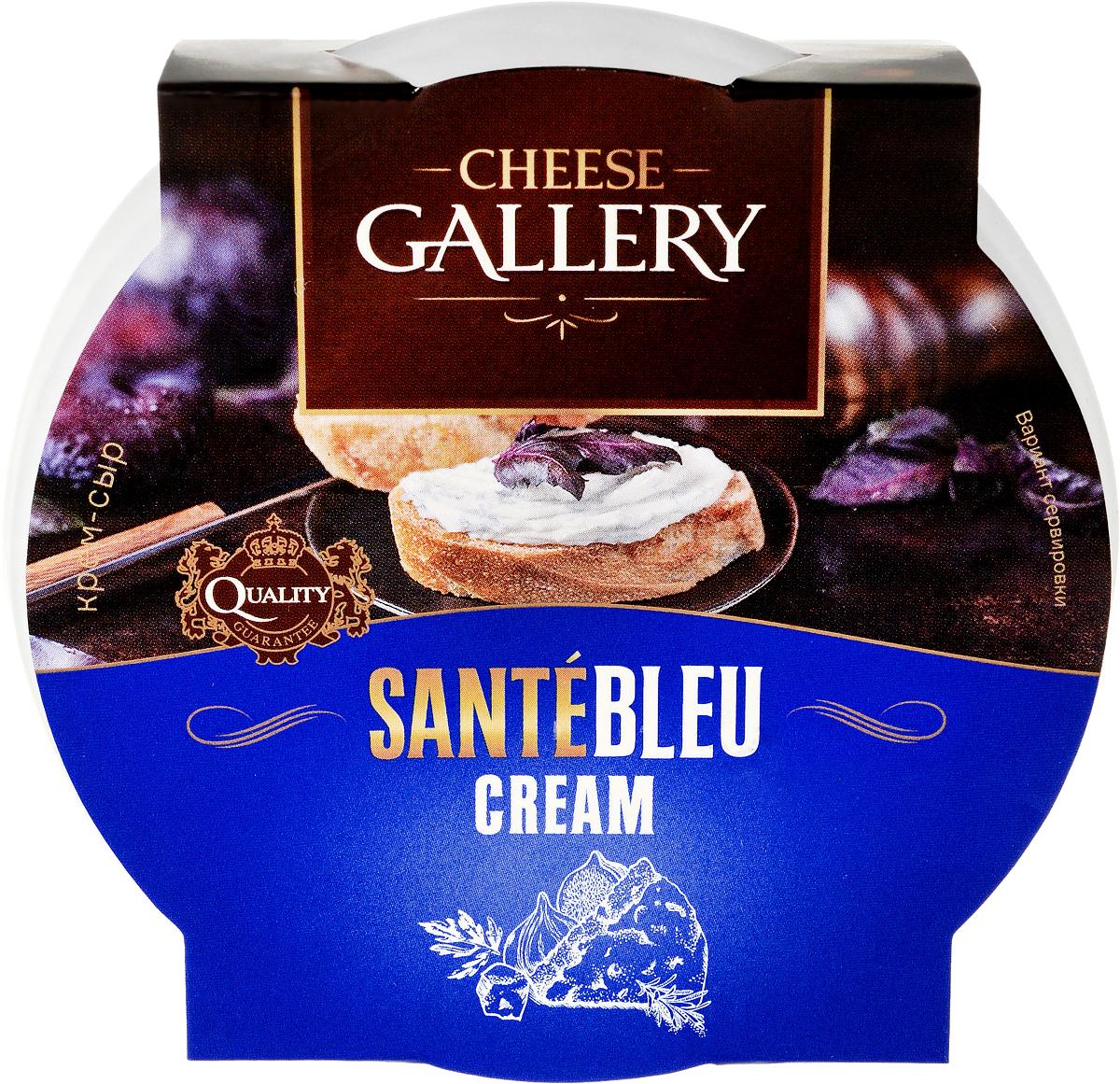 Cheese Gallery Sante Blue Крем-сыр, 150 г cheese gallery сыр bluefort 56
