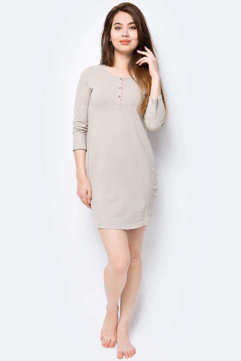 Платье домашнее Melado База, цвет: серый, коралловый. ML2635/01. Размер 54 платье домашнее melado вивьен цвет бежевый ml2170 01 размер 48