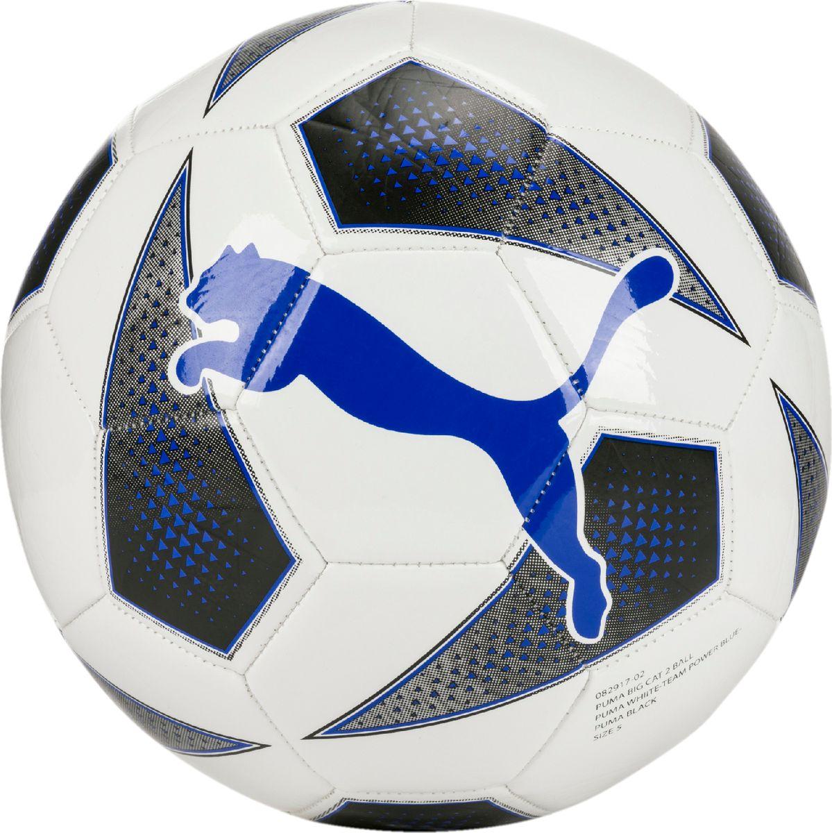 Мяч тренировочный Puma Big Cat 2 Ball, цвет: белый. 08291702 игрушка gigwi jumball big ball is a good ball мяч с захватом для собак 75367
