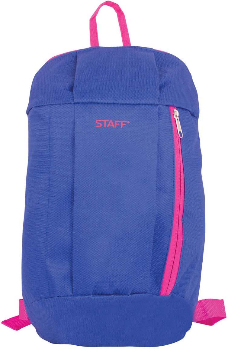 Staff Рюкзак Эйр цвет фиолетовый226374Компактная модель популярной формы. Незаменим для тех, кто в первую очередь ценит комфорт. Простота и универсальность этого рюкзака делает его незаменимым спутником для студентов и людей, ведущих активный образ жизни.