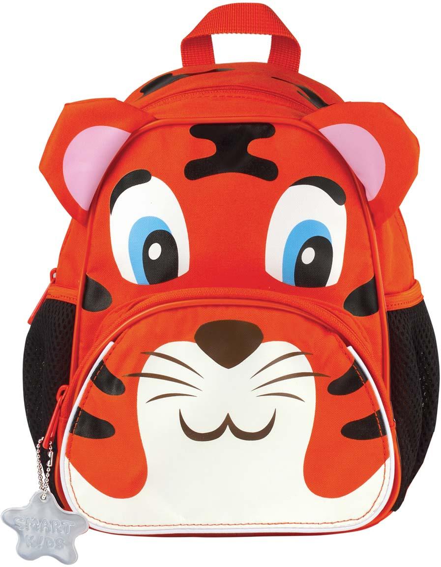 Tiger Family Рюкзак дошкольный Tom The Tiger цвет оранжевый227032За правильной осанкой нужно следить с детства. Если ваш ребенок ходит в детский сад или на дополнительные занятия, то удобно распределить вес игрушек, бутылочки с водой и небольшого перекуса поможет рюкзачок с мягкими лямками и вентилируемой спинкой.Пол ребенка: универсальный.Возрастная группа: 3-7 лет.Объем: 5 л.Кол-во отделений: 1.Кол-во карманов: 3.Фронтальный карман: да.Боковые карманы: да.Материал спинки: пенополиуретан.Светоотражающие элементы: да.Наличие ручки для переноса: да.Регулируемые лямки: да.Вентилируемые лямки: да.Материал дна: плотная ткань.Персонализация: сменная картинка-раскраска.Цвет: оранжевый.Узор: рисунок.Высота: 26 см.Ширина: 21 см.Глубина: 13 см.Вес: 0.23 кг.