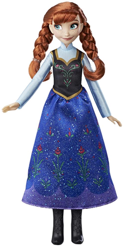 Disney Frozen Кукла Анна B5161_E0316 6 pcs set disney toys for kids frozen action figures frozen cartoon anime dolls children birthday gift model figures tq0122