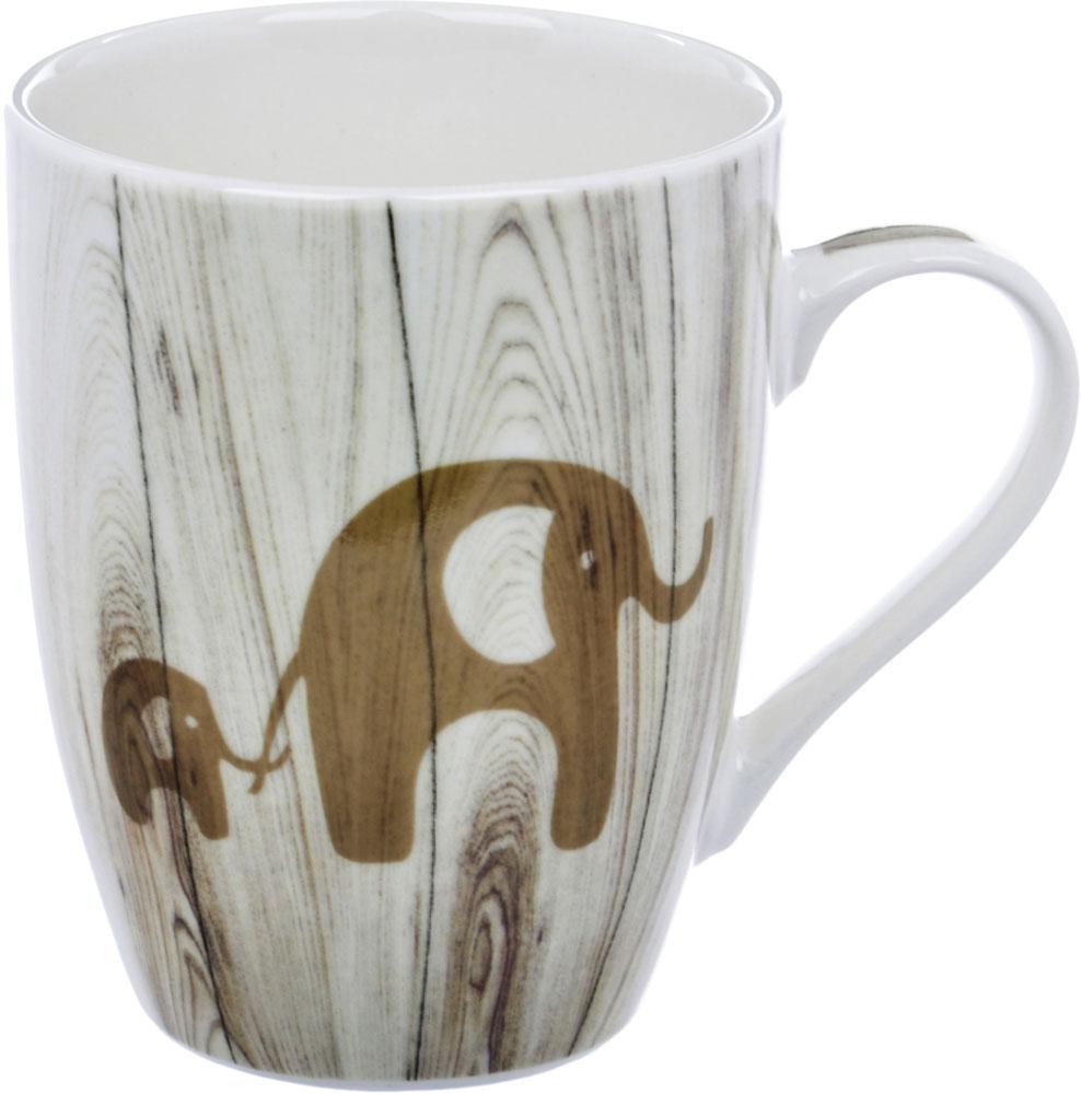 Кружка Liling Quanhu Дерево. Слон, 355 мл кружки из императорского фарфора купить в спб
