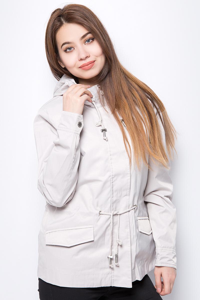 Куртка женская Baon, цвет: серый. B038010_Silver. Размер XXL (52) куртка quelle baon 1018974