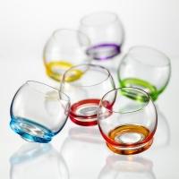 Набор бокалов для виски Bohemia Crystall Крейзи, 390 мл, 6 шт набор бокалов для бренди коралл 40600 q8105 400 анжела