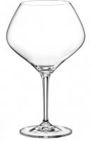 """Набор бокалов для вина Аморосо """"Бургундское"""", состоящий из двух бокалов на высокой ножке, несомненно, придется вам по душе. Бокалы предназначены для подачи красного вина. Они изготовлены из прочного высококачественного прозрачного стекла. Бокалы сочетают в себе элегантный дизайн и функциональность. Благодаря такому набору пить напитки будет еще вкуснее. Набор бокалов  идеально подойдет для сервировки стола и станет отличным подарком к любому празднику. Объем бокала 470 мл."""