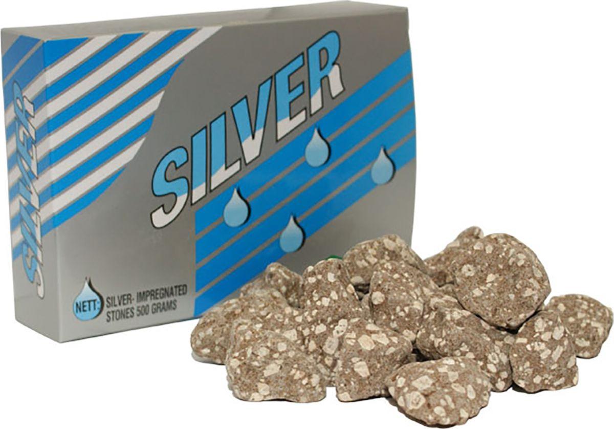 Посеребренные камни для Keosan KS-971  Посеребренные камни, используемые в фильтрах для воды KeoSan - это те же Минеральные камни для KeoSan KS-971, но подвергнутые специальной обработке насыщения ионами серебра. Помимо своих обеззараживающих и дезинфицирующих свойств они выделяют в фильтруемую воду такие полезные минералы как кальций, германий, йод, калий, магний, марганец, цинк, железо и др.  Посеребренные камни для фильтра Keosan KS-971 - один из основных компонентов фильтра воды Keosan KS-971. Серебро - эффективное средство для уничтожения бактерий, в большом количестве присутствующих в водопроводной воде. Любая болезнетворная инфекция страшно боится серебра. По данным лаборатории проводившей исследование было выявлено, что через 2 часа вода зараженная кишечной палочкой, полностью становилась пригодной для питья и вирус полностью уничтожался за счет ионов серебра. Просто слиток благородного металла, опущенный в воду - малоэффективен.  Посеребренные камни - уникальный материал, равномерно насыщающий воду ионами серебра и кислородом. Фильтры для воды в состав которых входят посеребренные камни, не только обеззараживают воду, но и позволяют ей гораздо дольше оставаться свежей и чистой.  Находясь в воде, камни выделяют большое количество растворенного кислорода, а так же нормализуют pH очищенной воды, что в свою очередь очень позитивно сказывается на организме человека.  Рекомендации: рекомендуется промывать посеребренные камни SUNMAC кипяченой или отфильтрованной водой 1 раз в 2 месяца.