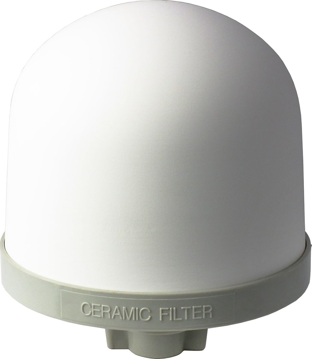 Керамический картридж для Keosan KS-971 и NEO-991 Керамический картридж изготовлен из диатомной керамики высокого давления и его полезные свойства многократно усилены новейшими технологиями. Диаметр фильтрующих отверстий составляет 0,2 микрона. Для сравнения, даже кисты (такие как криптоспоридии и лямблии) являются слишком большими по размеру, чтобы пройти через крошечные поры керамического фильтра. Керамический фильтр - это первая ступень очистки в фильтрах для воды KeoSan. Благодаря уникальной запатентованной системе производства фильтр позволяет эффективно устранять такие загрязнения как: различные виды осадков в воде; взвеси из водопроводной воды; элементы ржавчины; хлор; песок; микроорганизмы; Керамический фильтр предварительной очистки подходит к моделям KeoSan KS-971 и NEO-991, срок службы до полутора лет. В зависимости от качества воды и условий эксплуатации этот срок может уменьшиться. Керамический картридж изготовлен из диатомной керамики высокого давления и его полезные свойства многократно усилены новейшими технологиями. Диаметр фильтрующих отверстий составляет 0,2 микрона.
