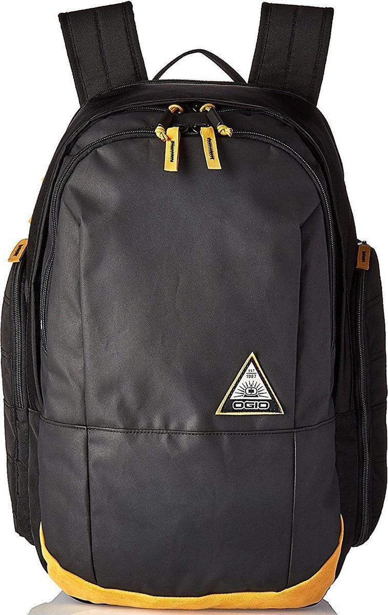 Рюкзак OGIO Clark, цвет: черный, 26 л. 111104_875111104_875Стильный и в то же время функциональный рюкзак от Ogio. Имеются специализированные отсеки для ноутбука и планшета, которые позволят Вам не переживать за сохранность техники. Большое основное отделение вместит все необходимые вещи, а внешние боковые карманы на молнии помогут всегда держать необходимые аксессуары поблизости.Особенности:Изолированный отсек для 15-дюймового ноутбука с флисовой подкладкой (37 х 25.5 х 2,5 см) Вместительный основной отдел с мягким карманом для планшета Передний отдел с панелью-органайзером и карманом для ценных вещей на молнии Два вместительных внешних боковых кармана Практичная стеганая задняя панель Легкие эргономичные плечевые лямки с ремешком на груди Фирменный логотип Ogio Вес: 815 г Объем: 26 литров Материалы: полиэстер 450D, полиэстер 600D print, полиэстер 600D two-tone.