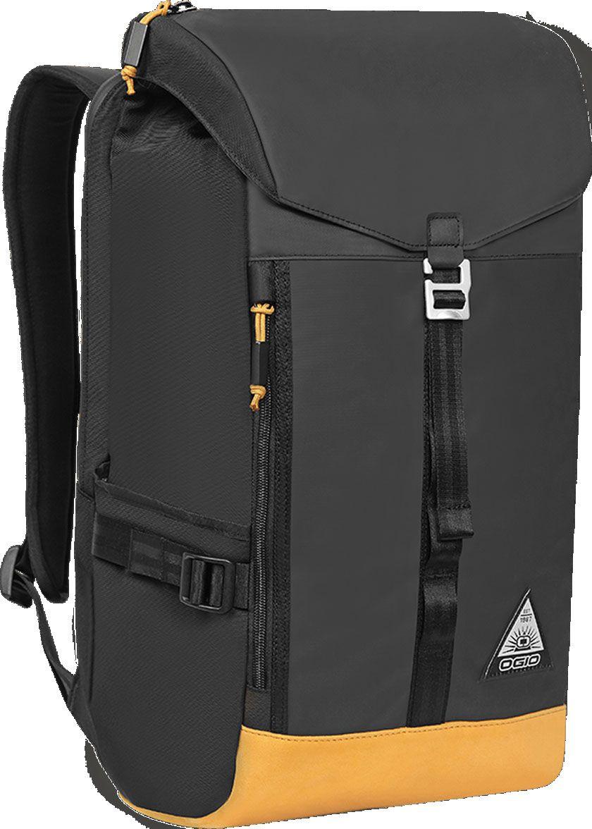 Рюкзак OGIO Escalante, цвет: черный, желтый, 28 л. 111139_875 15 6 рюкзак для ноутбука thule enroute 2 blur карман для ipad tebd 217k ударостойкий черный