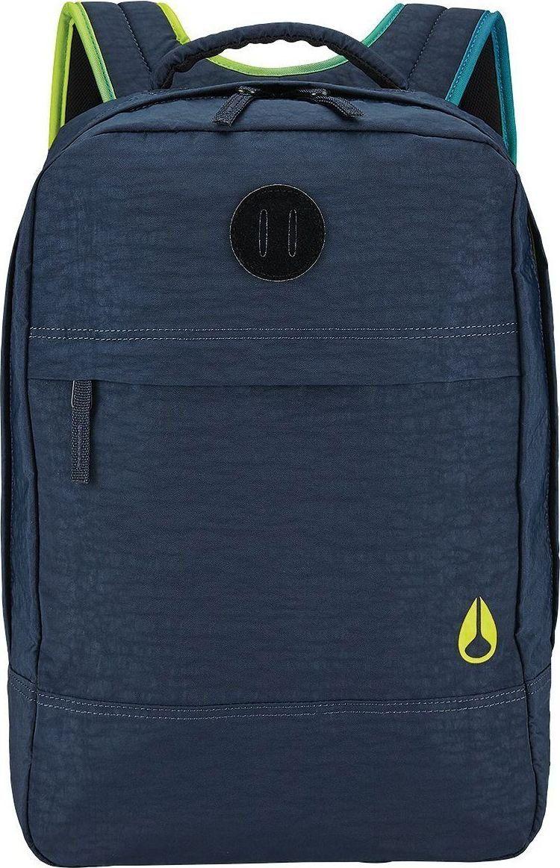 Рюкзак Nixon Beacons, цвет: темно-синий, 18 л. C2190-2642-00C2190-2642-00Рюкзак Beacons представлен как в нескольких действительно оригинальных расцветках, так и в классическом однотонном варианте. Благодаря вместительности и прочным качественным материалам, из которых изготовлен рюкзак, это отличный, надёжный вариант на каждый день. Особенности: Основное отделение на молнии Внутренние карманы Внешний карман на молнии Мягкие регулируемые лямки с сетчатыми вставками Ручка для переноски Объём: 18 литров Размеры: 28 х 15 х 46 см Состав: 100% полиэстер 600D.