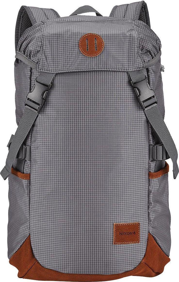 Рюкзак Nixon Trail, цвет: серый, 21 л. C2396-145-00 часы nixon genesis leather white saddle