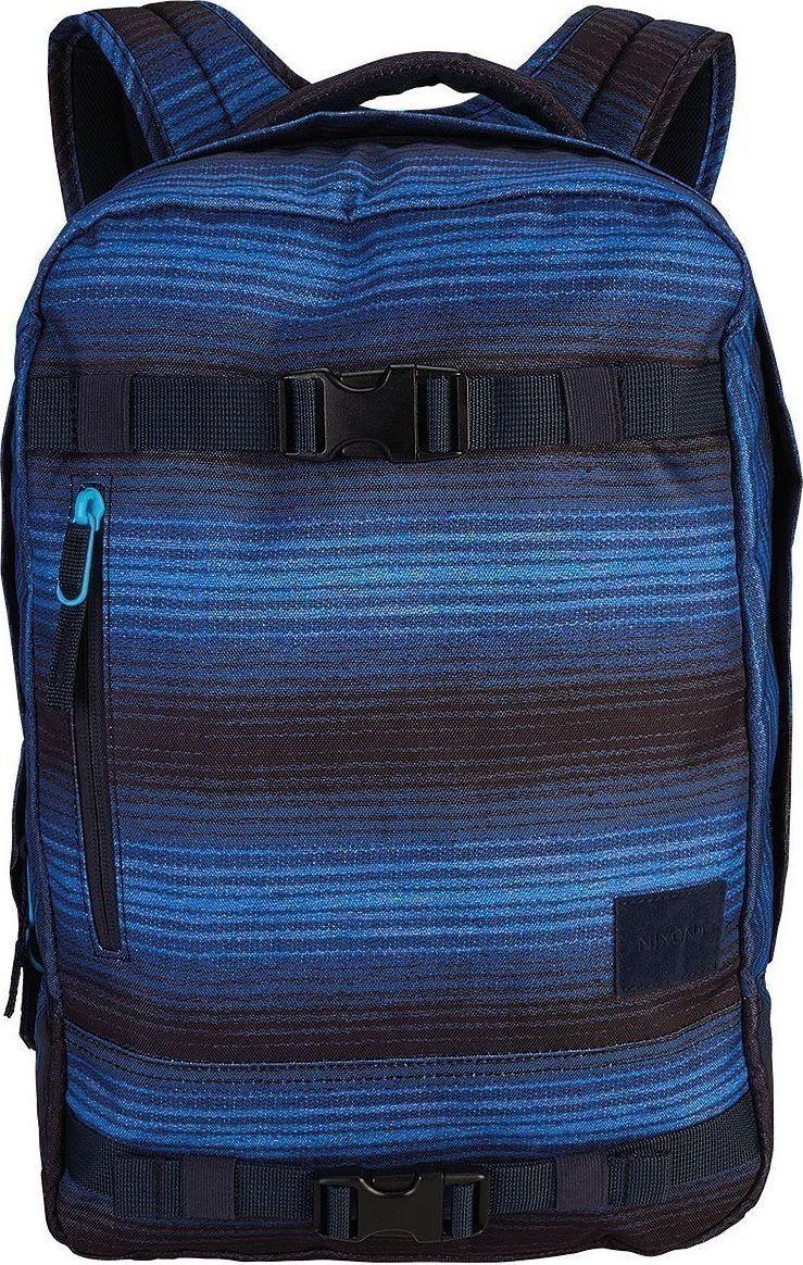 Рюкзак Nixon Del Mar, цвет: черный, синий, 18 л. C2463-1648-00 колеса для скейтборда для скейтборда nomad crown logo black 102a 54 mm