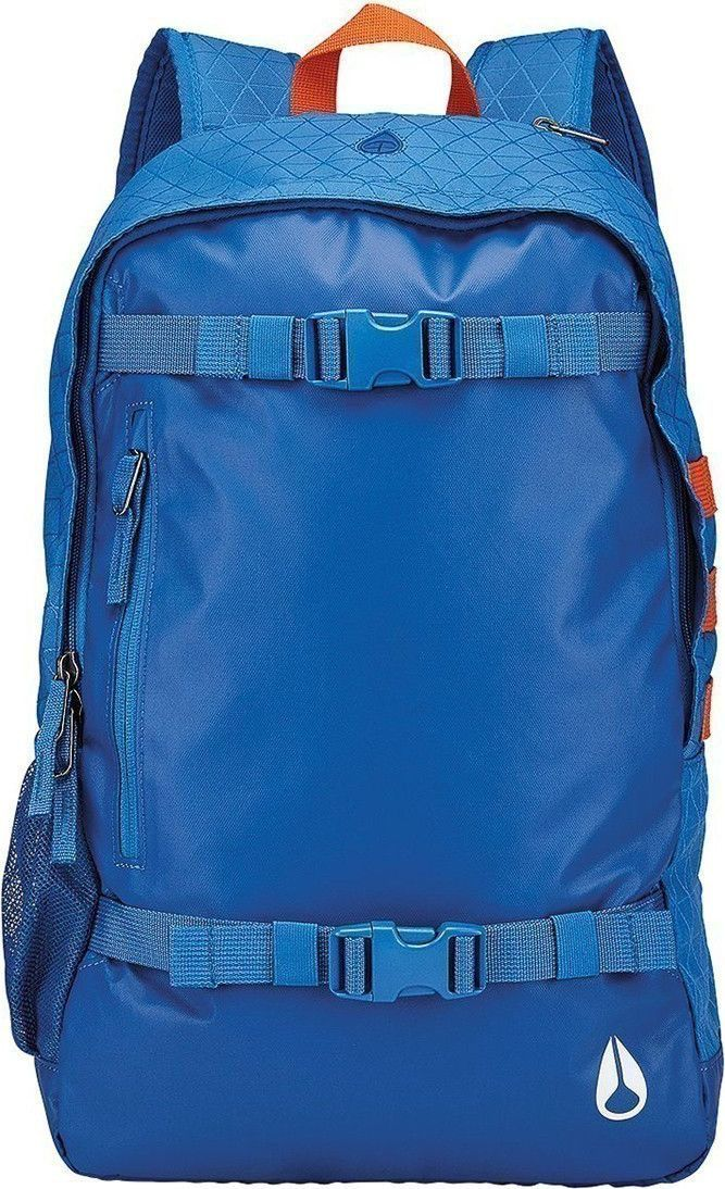 Рюкзак Nixon Smith II, цвет: синий, 23,8 л. C1954 часы nixon genesis leather white saddle
