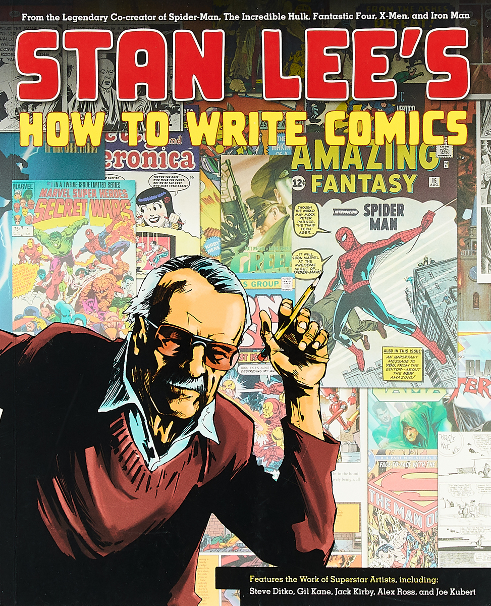 Stan lee's how to write comics корпус corsair obsidian series 350d window cc 9011029 ww