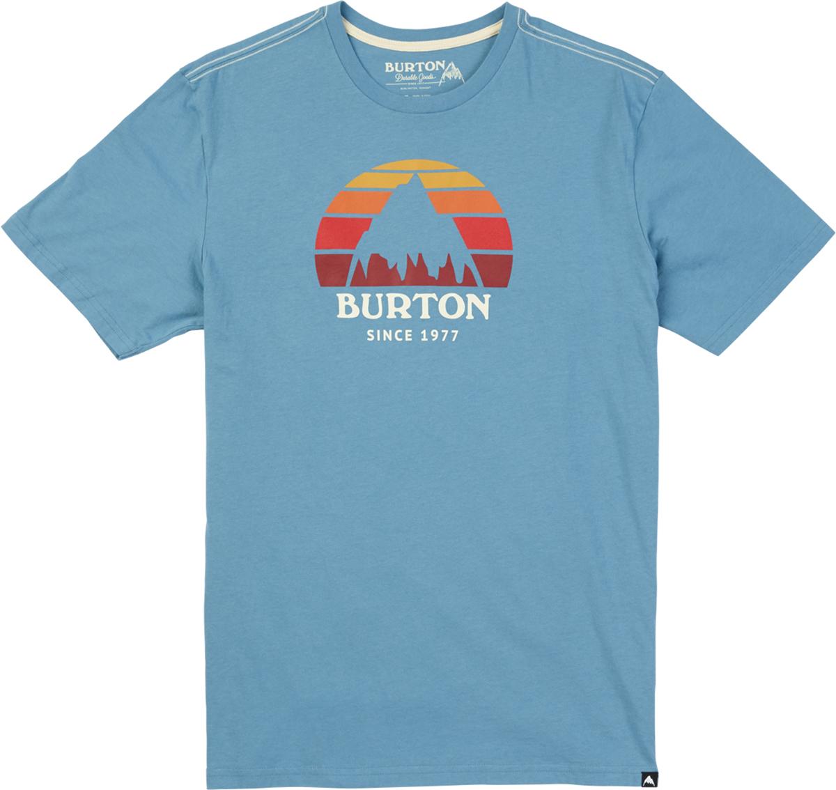 Футболка мужская Burton Mb Underhill Ss, цвет: голубой. 17398103400. Размер XXL (54)