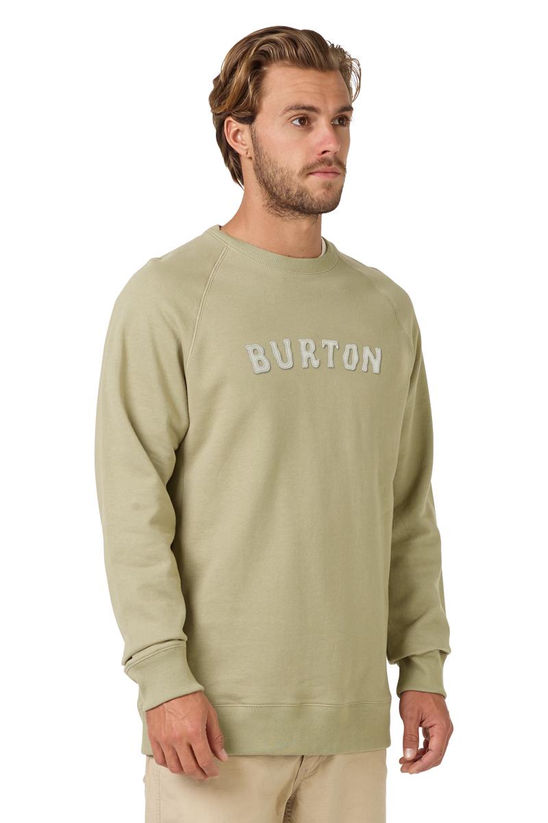 Толстовка мужская Burton Mb Fryatt Crew, цвет: бежевый. 19684100200. Размер XXL (54) burton крепления для сноуборда burton genesis black l