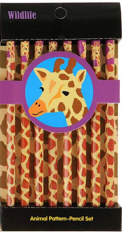 Набор карандашей чернографитных Пятнышки жирафа твердость HB 8 шт2397391_жирафИзделия данной категории необходимы любому человеку независимо от рода его деятельности. У нас представлен широкий ассортимент товаров для учеников, студентов, офисных сотрудников и руководителей, а также товары для творчества.