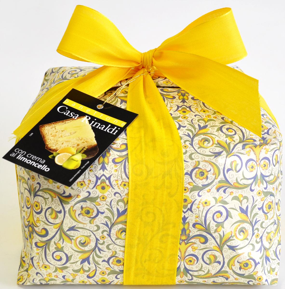 Casa Rinaldi Кулич с кремом лимончелло, 1 кг casa rinaldi рис арборио среднезерный 500 г