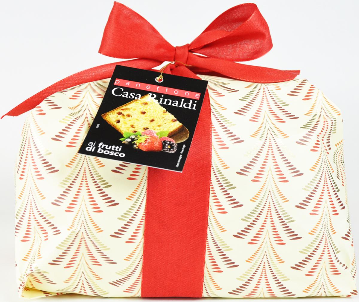 Мягкий и ароматный кулич с лесными ягодами - это классический десерт, одно из основных угощений на праздничном столе. Кулич приготовлен по лучшим итальянским рецептам. Оригинальная упаковка делает его замечательным подарком на Пасху.