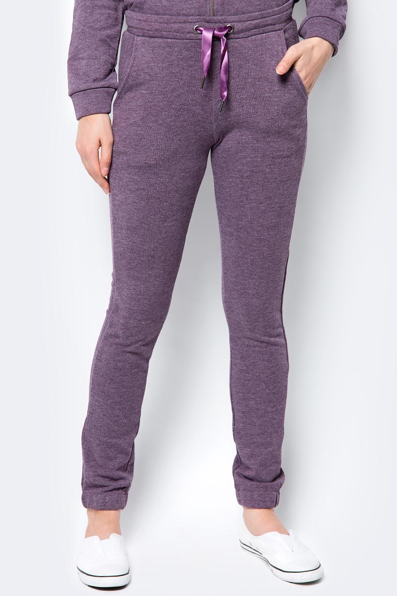 Брюки женские Sela, цвет: фиолетовый. Pk-115/863-8192. Размер S (44) брюки женские sela цвет фиолетовый pk 115 863 8192 размер s 44