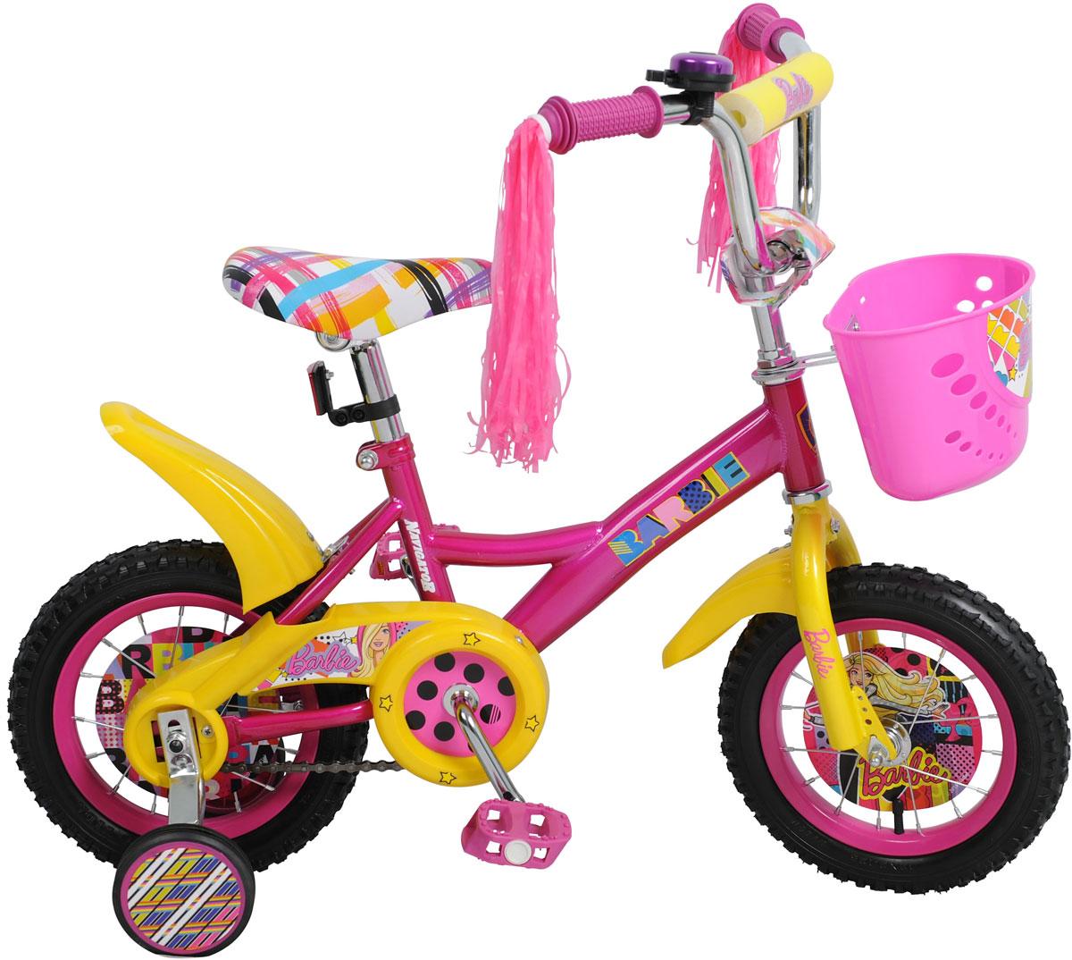 Велосипед детский Navigator BARBIE, цвет: розовый. ВН12093К. ВН12093К