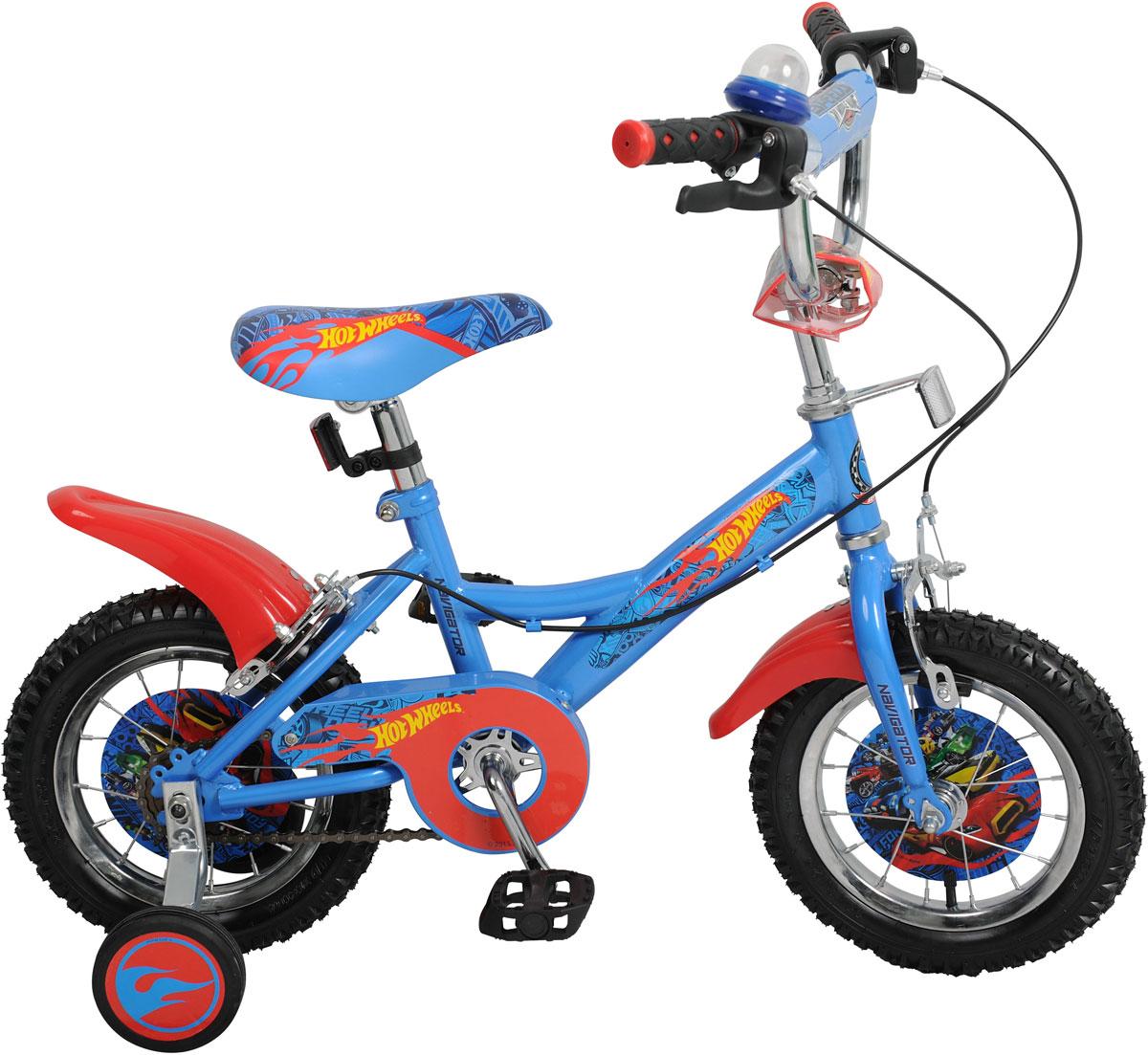 Велосипед детский Navigator Hot Wheels, цвет: синий. ВН12097. ВН12097 navigator велосипед двухколесный hot wheels